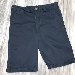 TH Navy Cotton Shorts